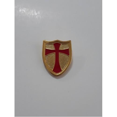 Escudo Templário dourado